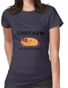 Unitato geek funny nerd Womens Fitted T-Shirt
