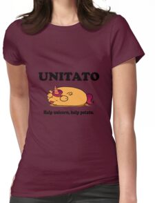 Unitato geek funny nerd Womens Fitted T-Shirt