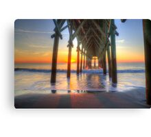 First sunrise of 2015 Canvas Print