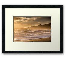 Evening light at Nerja, Andalucia, Spain Framed Print