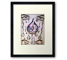Who Will Cry Framed Print