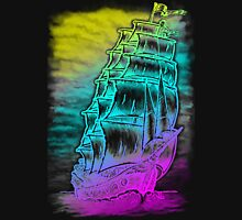 Caleuche Ghost Pirate Ship / Color T-Shirt