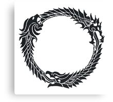 The Elder Scrolls logo Canvas Print