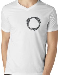The Elder Scrolls logo Mens V-Neck T-Shirt