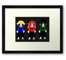 The Rowdyruff Boys! Framed Print