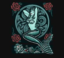 Mermaid and Skull 2 Classic T-Shirt