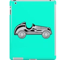 Vintage car geek funny nerd iPad Case/Skin