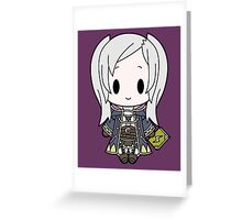 Female MC Chibi Greeting Card