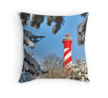 A lighthouse for framing... Throw Pillow