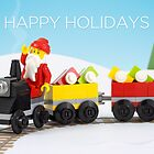 Santa&#x27;s Train by powerpig