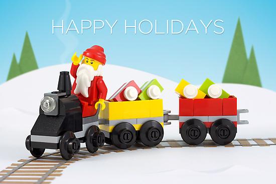 Santa's Train by powerpig