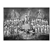 God, Liberty, And Constitutional Rights Photographic Print