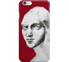 eyes to the past  iPhone Case/Skin