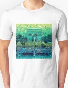 paris skyline abstract 5 Unisex T-Shirt