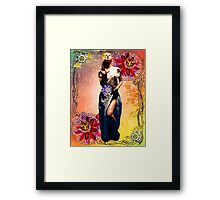 NOUVEAU PASSION Framed Print