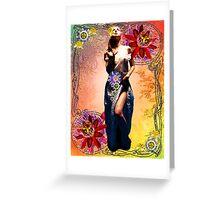 NOUVEAU PASSION Greeting Card