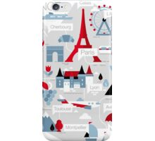 France Map iPhone Case/Skin