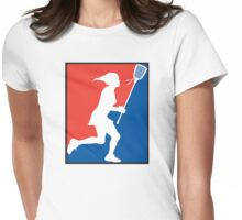 Girl's Lacrosse Womens Fitted T-Shirt