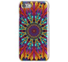 Amazing colors 3D mandala iPhone Case/Skin