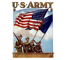 US Army -- Guardian Of The Colors Photographic Print