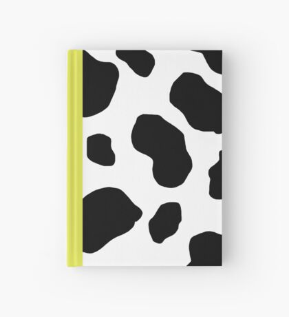 Cow Print Hardcover Journal