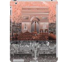 paris skyline abstract 6 iPad Case/Skin