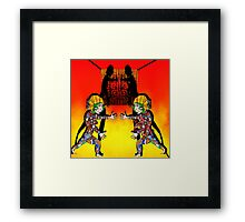 At the doorway of forever. Framed Print