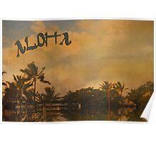 Aloha ~ Vintage Poster