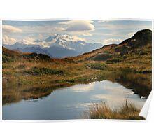 Swiss mountain lake Poster