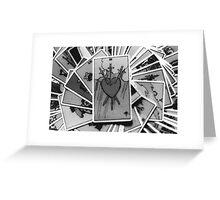 Three of Swords Greeting Card