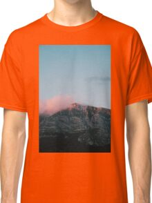 Mountains in the background VII Classic T-Shirt