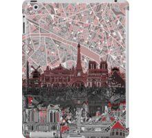 paris skyline abstract 7 iPad Case/Skin