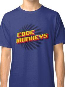 Code Monkeys Title Classic T-Shirt