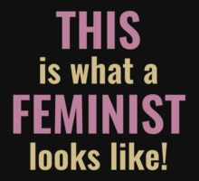 This Is What A Feminist Looks Like by AmazingVision