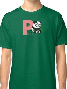 p for panda Classic T-Shirt