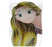 Tangled Rapunzel Poster