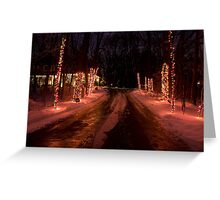 The Road to Jolly Greeting Card