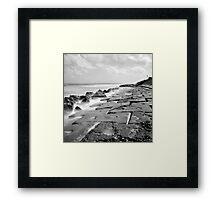 Seawall Scenes 2 Framed Print