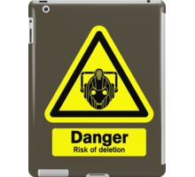 Cyberman Danger! iPad Case/Skin