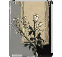 composition with rose iPad Case/Skin