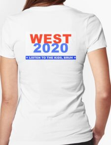 Kanye West for President 2020 Womens Fitted T-Shirt