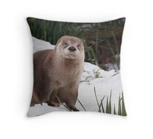 Smile please! Throw Pillow