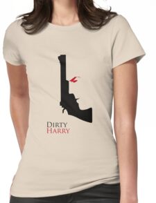 Dirty Harry - Gun Womens Fitted T-Shirt