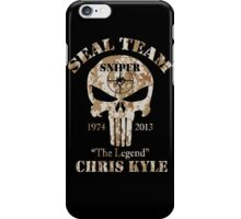 American Sniper Chris Kyle US Navy Legend Punisher Army  iPhone Case/Skin
