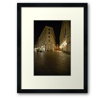 Peaceful Milano Framed Print