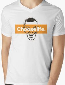 Choose life. Mens V-Neck T-Shirt
