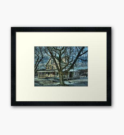 I'll be home for Christmas Framed Print