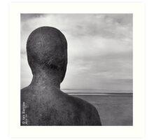 Sea View - Formby Art Print