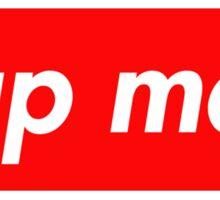 Sup Man Sticker