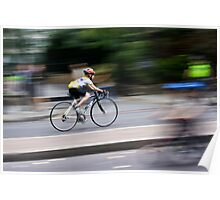 Racing Cyclist Poster